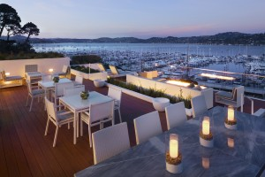Casa Madrona Debuts The Mansion - Deck of Alexandrite Suite