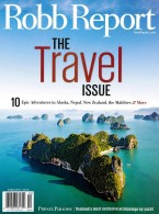 Robb Report Travel Issue
