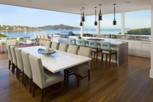Alexandrite Suite Dining Room at Casa Madrona Hotel & Spa